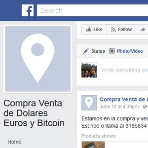 Compra de dólares en redes sociales en Colombia
