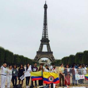 Turistas colombia